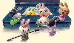 Ilyana est arrivee a Cupcake depuis le - Animal Crossing - Acnl Animal Crossing Wild World, Animal Crossing Fan Art, Animal Crossing Pocket Camp, Leaf Animals, Cute Animals, Images Kawaii, Acnl Art, Ac New Leaf, Art Manga