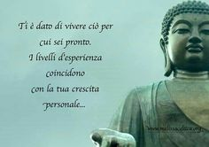 Qualsiasi difficoltà è alla tua portata. Qualsiasi difficoltà ti forma per non averne più Dalai Lama, Osho, Staying Positive, Wise Quotes, Problem Solving, Namaste, Karma, Favorite Quotes, Zen