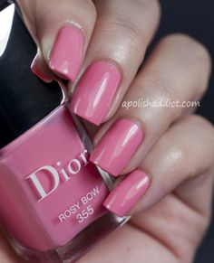 Rosy Bow is a very girly pink with a hint of coral. New for spring 2013