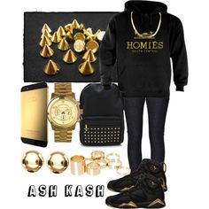 Homies South Central, created by fashionsetstyler on Polyvore