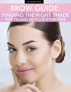 How to find the right shade for your eyebrows // #makeup