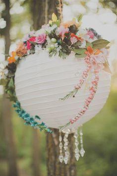 La Mariée en Colère - Galerie d'inspiration, mariage, wedding, decoration, lampion, lamp, flowers