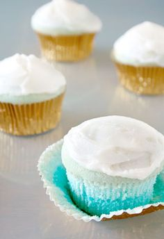 Pretty Ombre Cupcakes   the tomkat studio