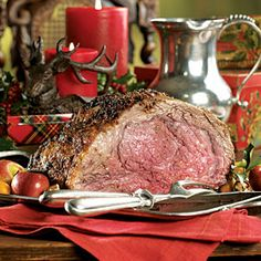Prime Rib with horseradish cream  made this for christmas dinner one year: it was delish!