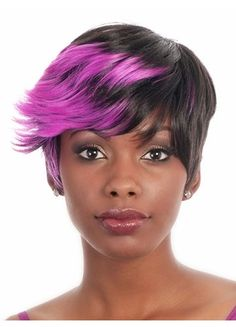 The Flame Stylish Short Synthetic Wig