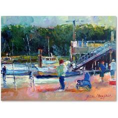 Trademark Fine Art Saco Canvas Art by Richard Wallich, Size: 18 x 24, Multicolor