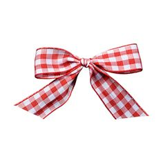 CVW_SpringDress_Bow_Gingham_Red.png ❤ liked on Polyvore featuring bow, ribbon, fillers, backgrounds and bows and ribbons