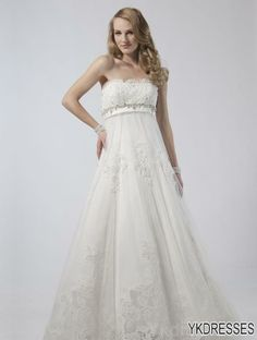 Perfect Romantic Princess One Shoulder Ball Gown Tulle Wedding Dress with Flowers and Colored Sash JSWD Wedding Gowns Pinterest Ball gowns