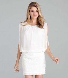 Aidan Aidan Mattox Blouson Bodice Dress | Dillard's Mobile