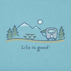 Men's Airstream Roam Crusher Tee|Life is good