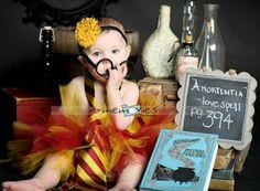 Harry Potter baby picture. Hahahaha! So stinkin cute!!