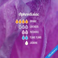 Aphrodisiac - Essential Oil Diffuser Blend