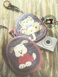 Camera Case  PDF Sewing Pattern (Dog and Cat)