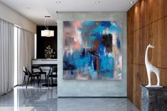 Items similar to Large Abstract Canvas Art,Extra Large Abstract Canvas Art,painting on canvas,modern abstract,extra large wall art on Etsy Bright Paintings, Unique Paintings, Art Paintings, Abstract Paintings, Large Abstract Wall Art, Large Painting, Textured Painting, Painting Art, Oversized Canvas Art