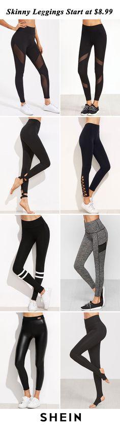 Skinny leggings starts at $8.99!