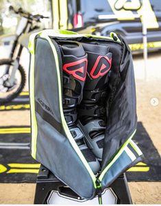 SCOTT Goggle Case Bag Ideal For Motocross MX Enduro Offroad Black//Yellow