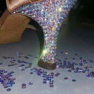 bellissime 😍 #dancesportshoes #unavitaperladanza #swarovski #shoes #favolose #fids #wdsf