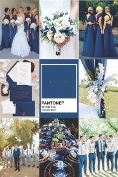 Navy Wedding Colors, Wedding Color Pallet, Blue Wedding, Dream Wedding, Wedding List, Wedding Prep, Wedding Planning, Cinderella Wedding, Bridal Shoot