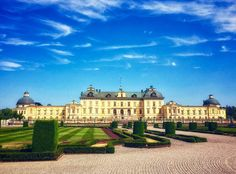 The Drottningholm Palace (Swedish: Drottningholms slott) is the private residence of the Swedish royal family. It is loced in Drottningholm. Built on the island Lovön (in Ekerö Municipality of Stockholm County), it is one of Sweden's Royal Palaces. Visit Stockholm, Stockholm Sweden, Sweden Christmas, Kingdom Of Sweden, Baltic Cruise, Sweden Travel, Danish Royal Family, Swedish Royals, Gothenburg