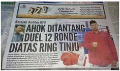 Heboh !!! Pemuda Batak Tantang Ahok Tinju 12 Ronde Diatas Ring - Madura Gue