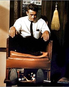 James Dean-Rebel without a cause behind the scenes
