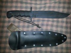 Bowie knife pvc sheath