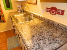 How To Paint Your Countertops For Less Than $50!!!