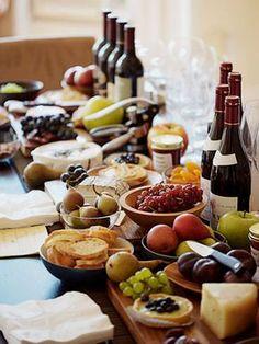como preparar una tabla de quesos gourmet