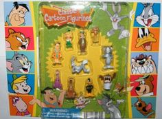 Hanna Barbera / Loony Tunes Classic Cartoon Charater Mini Figure Vending Toy Set of 10 with Tom and Jerry, Scooby-Doo, Fred Flintstone, Yogi Bear, Bugs Bunny Etc with Bonus Looney Tunes Cookie Cutter! by AA Co., http://www.amazon.com/dp/B00AAN233E/ref=cm_sw_r_pi_dp_181Vqb05BPSM5