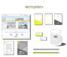 corporte identity, construction company branding, logo design construction, corporate identity architecture