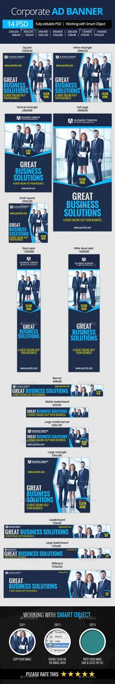 Corporate and Business Web Banners Download: http://graphicriver.net/item/corporate-and-business-web-banners/11023003?ref=ksioks