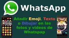 Whatsapp ya permite añadir emoji, texto y dibujar en las fotos y videos tomados y compartidos en la app de manera idéntica a como lo hace Snapchat. #Whatsapp #Emoji #Fotos #Video #Android #iOS #Snapchat downloadsource.es