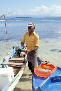 Garifuna fisherman