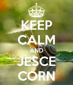 KEEP CALM AND JESCE CORN