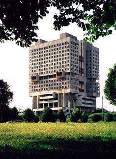 Russia, Kaliningrad, 1975, The House of Soviets.