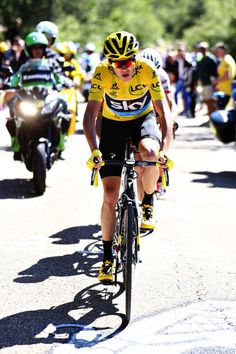 Chris Froome attacks up Mont Ventoux stage 12 TDF2016 Getty Images