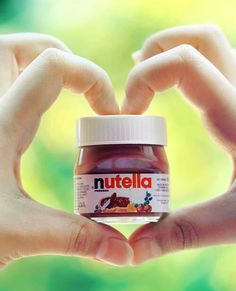 #Nutella omg can eat the whole JAR..