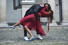 Patricia Manfield and Giotto Calendoli