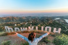 A Los Angeles - based travel blogger's guide to getting to the Hollywood sign hike. Step-by-step direction from the start of the Hollywood sign hiking trail.  While staying in Burbank, California -- a fifteen minute drive