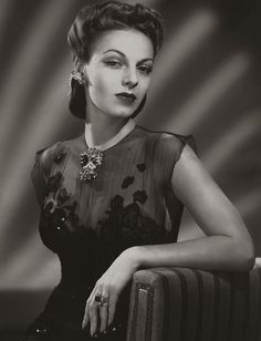 Vera Zorina, 1944 by pictosh, via Flickr