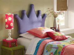 Tête de lit couronne de princesse