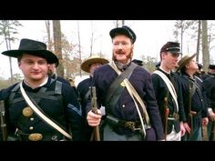 """Conan O'Brian Becomes A Civil War Reenactor for a day.  Can you say """"just desserts""""?"""