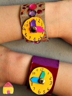 Cardboard Tube Watch Craft