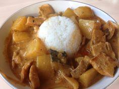 Massaman curry - chezENGH Massaman Curry, Meat, Chicken, Ethnic Recipes, Food, Meals, Cubs