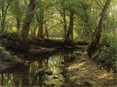 Works of the artist Peder Mørk Mønsted (Peter Mork Peder Mørk Mønsted 1859 - 1941). Part 3 (45 pics)