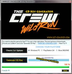 The Crew: Wild Run CD Key Generator Full Game Download 2016