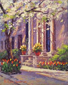 """A Painter's Journey: TOWN AND COUNTRY: """"UPPER EAST SIDE SPRING"""", AND """"M..."""