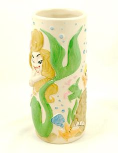 Troubles Mermaid Tiki Mug – Cats Like Us #tikifarm