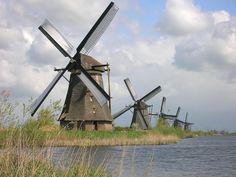 Pays-bas | Moulins de Kinderdijk | Lire la légende | 26/04/2014 ...