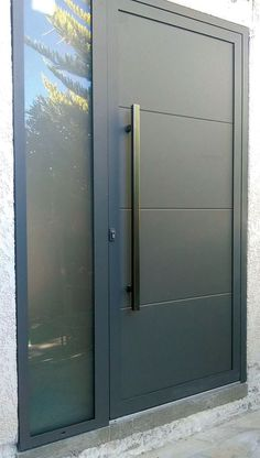 Head to our information site for lots more pertaining to this eye-popping photo Modern Entrance Door, Main Entrance Door Design, Modern Garage Doors, Modern Exterior Doors, Door Gate Design, Room Door Design, Door Design Interior, Modern Front Door, Front Door Entrance